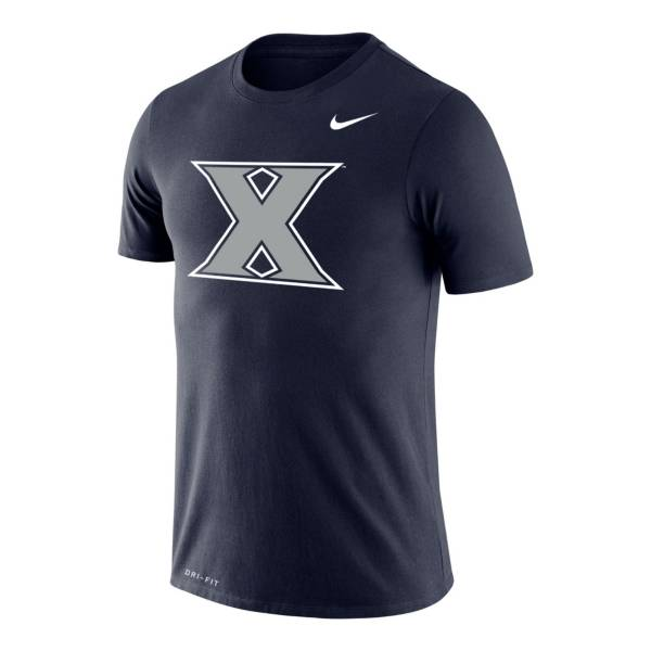 Nike Men's Xavier Musketeers Navy Legend Logo T-Shirt product image