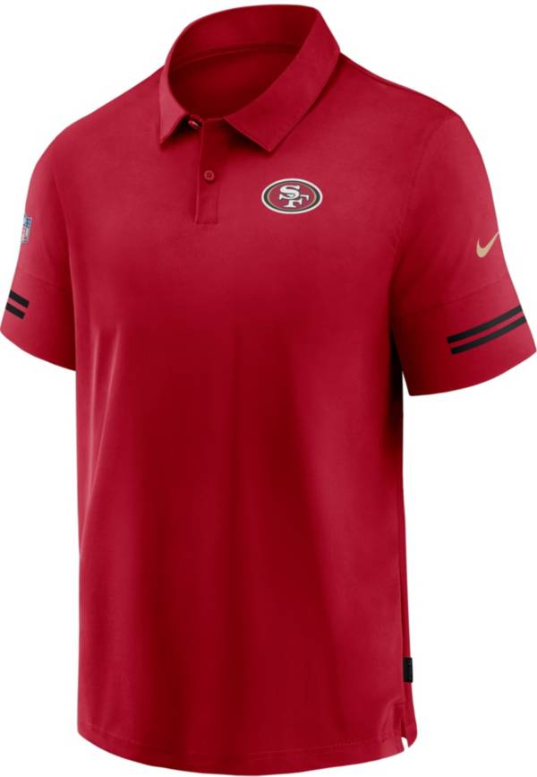 Nike Men's San Francisco 49ers Coaches Sideline Red Polo product image