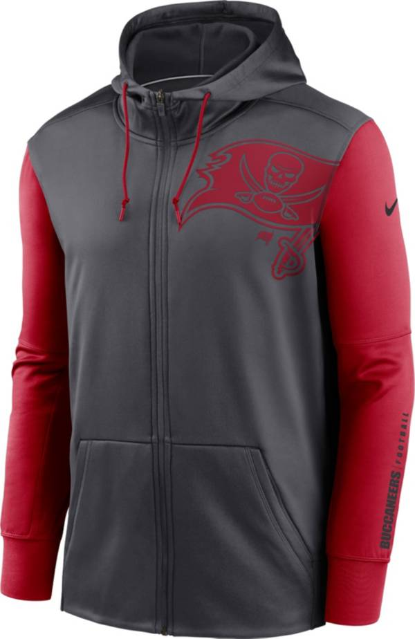 Nike Men's Tampa Bay Buccaneers Color Block Logo Full-Zip Hoodie product image