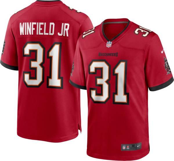 Nike Men's Tampa Bay Buccaneers Antoine Winfield Jr. #31 Red Game Jersey product image