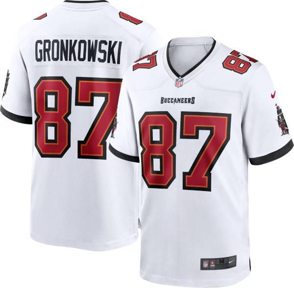 Nike Men's Tampa Bay Buccaneers Rob Gronkowski #87 White Game Jersey product image