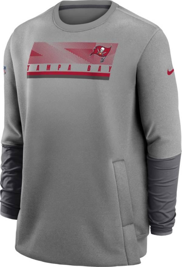 Nike Men's Tampa Bay Buccaneers Sideline Coaches Crew Sweatshirt product image