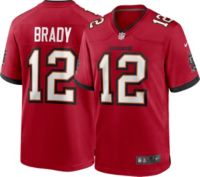 Nike Men's Tampa Bay Buccaneers Tom Brady #12 Red Game Jersey