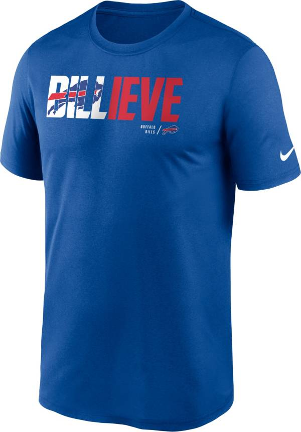 Nike Men's Buffalo Bills Old Royal 'Believe' Legend T-Shirt product image