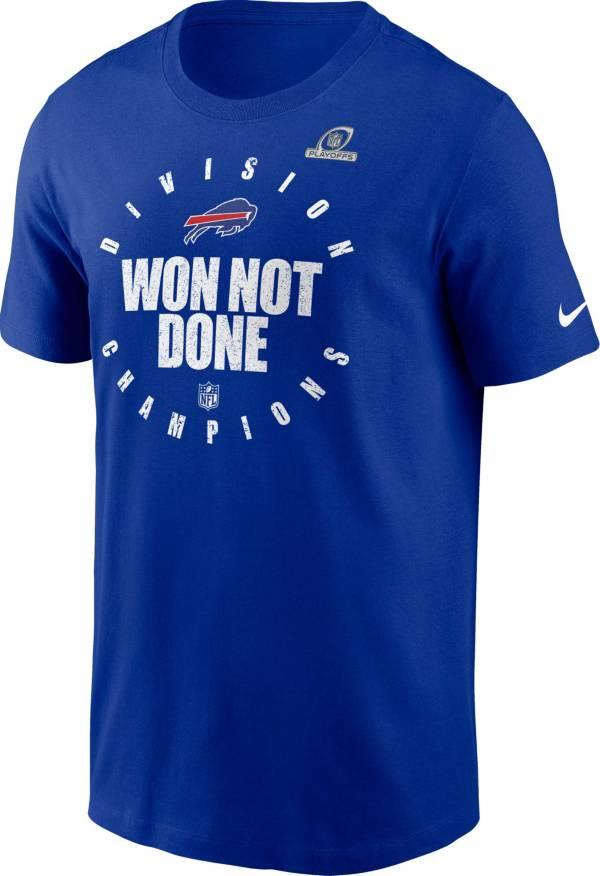 Nike Men's Buffalo Bills AFC East Division Champions Royal T-Shirt product image