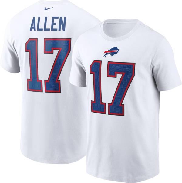 Nike Men's Buffalo Bills Josh Allen #17 White T-Shirt product image