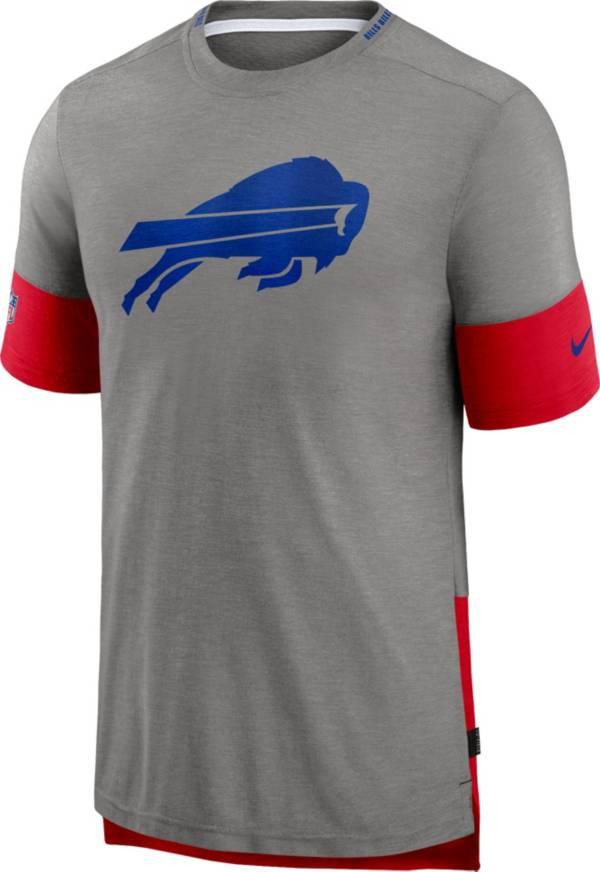 Nike Men's Buffalo Bills Grey Sideline Player T-Shirt product image