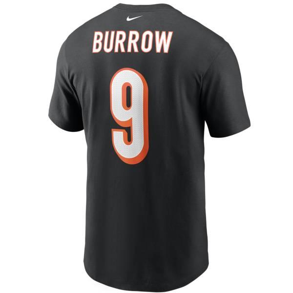 Nike Men's Cincinnati Bengals Joe Burrow #9 Logo T-Shirt product image