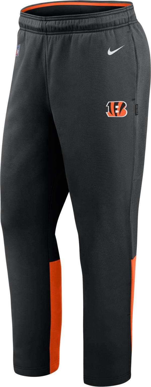 Nike Men's Cincinnati Bengals Sideline Logo Black Woven Pants product image