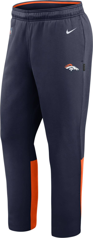 Nike Men's Denver Broncos Sideline Logo Navy Woven Pants product image