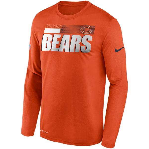 Nike Men's Chicago Bears Sideline Long Sleeve T-Shirt product image