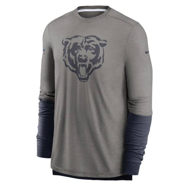 Nike Men's Chicago Bears Sideline Dri-Fit Player Long Sleeve T-Shirt product image