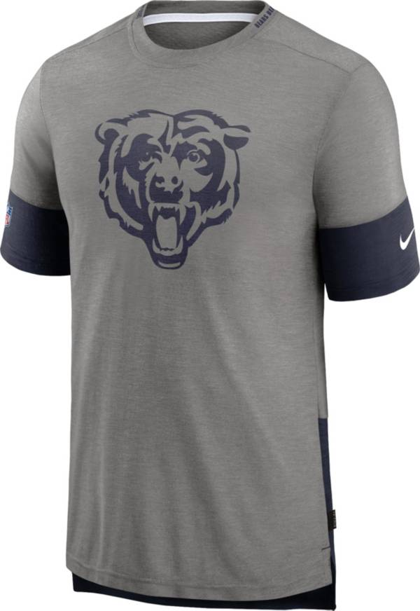 Nike Men's Chicago Bears Grey Sideline Player T-Shirt product image