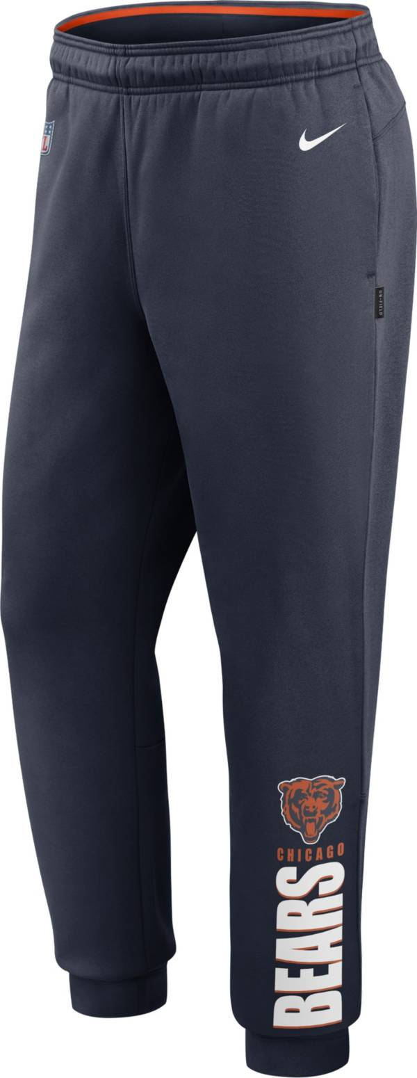 Nike Men's Chicago Bears Sideline Therma-FIT Performance Navy Pants product image