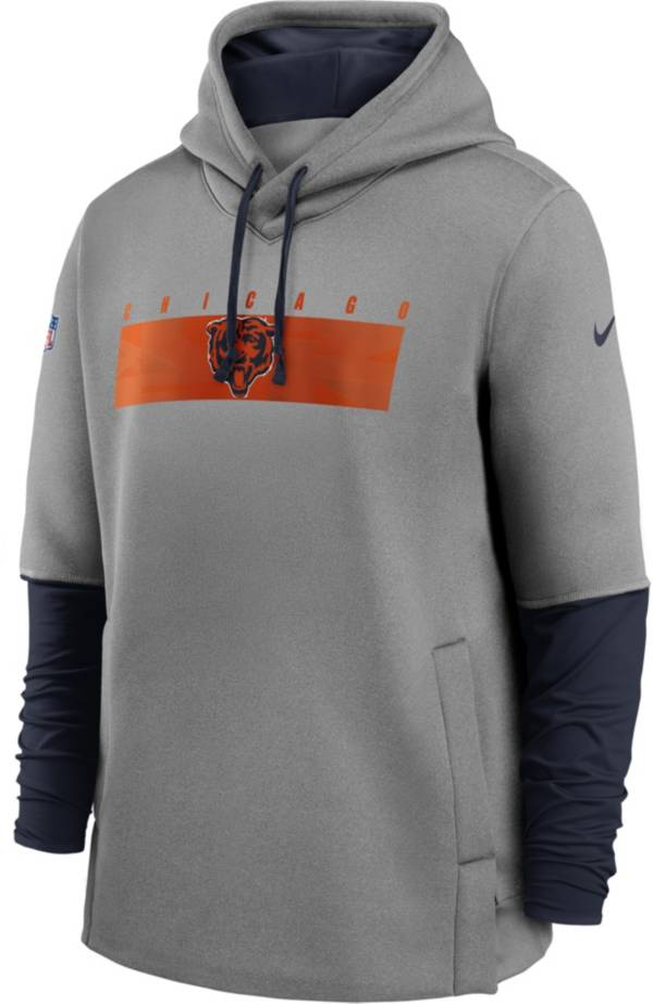 Nike Men's Chicago Bears Sideline Therma-FIT Heavy Hoodie product image