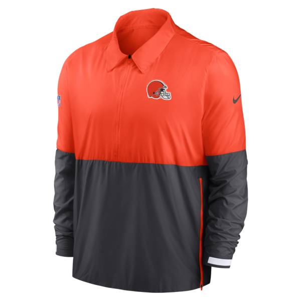Nike Men's Cleveland Browns Sideline Dri-Fit Coach Jacket product image