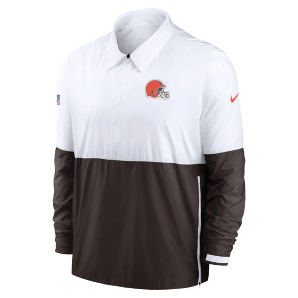 Nike Men's Cleveland Browns Sideline Dri-Fit Coach Jacket product image