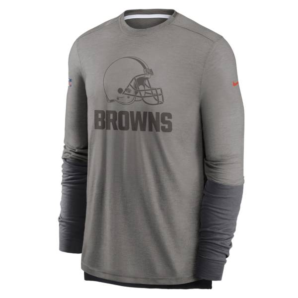 Nike Men's Cleveland Browns Sideline Dri-Fit Player Long Sleeve T-Shirt product image
