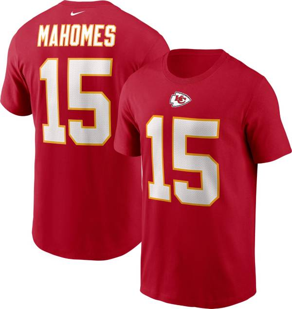 Nike Men's Kansas City Chiefs Legend Patrick Mahomes #15 Red T-Shirt product image