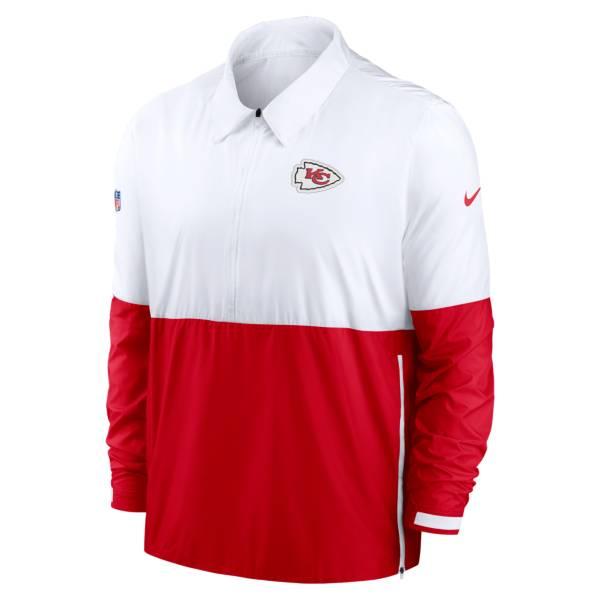 Nike Men's Kansas City Chiefs Sideline Dri-Fit Coach Jacket product image