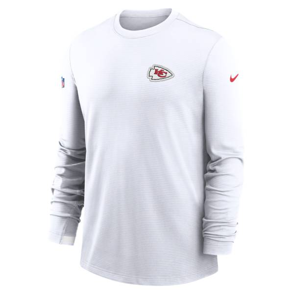Nike Men's Kansas City Chiefs Sideline Dri-Fit Long Sleeve T-Shirt product image