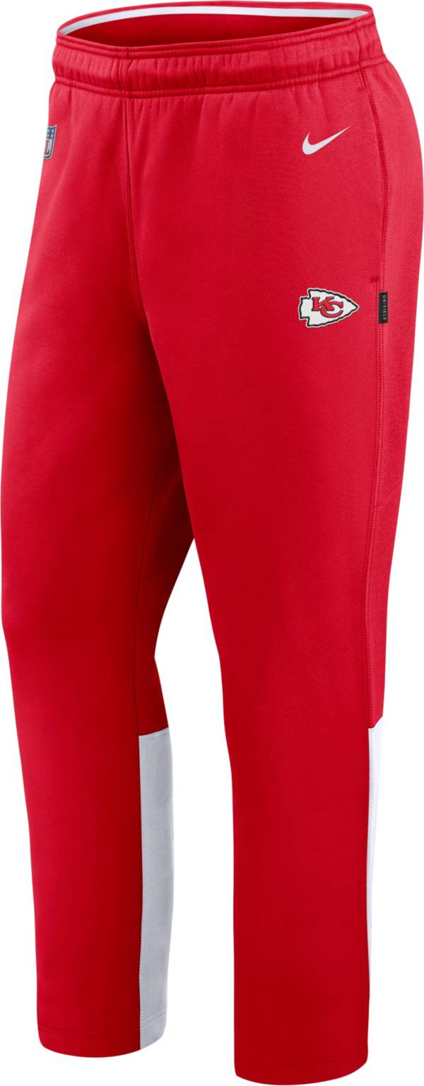 Nike Men's Kansas City Chiefs Sideline Logo Red Woven Pants product image