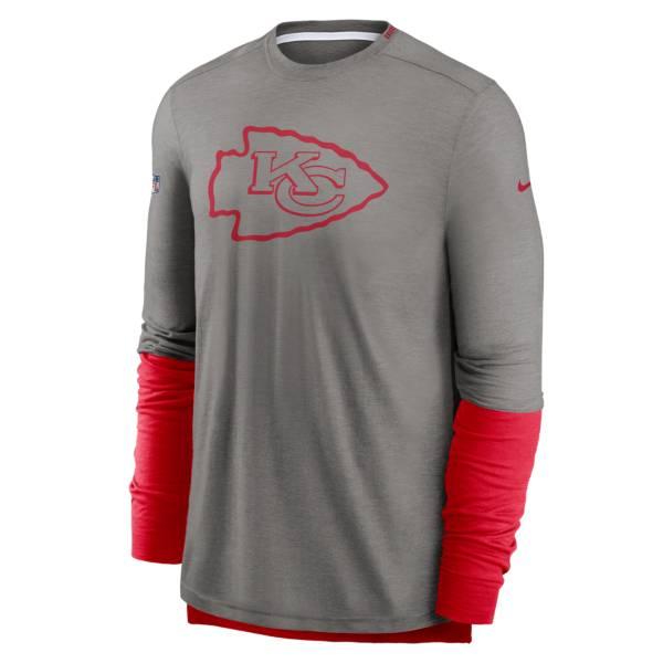 Nike Men's Kansas City Chiefs Sideline Dri-Fit Player Long Sleeve T-Shirt product image