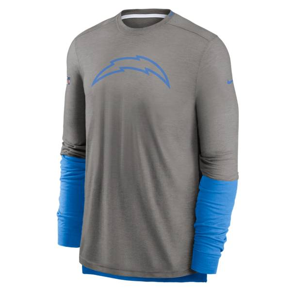 Nike Men's Los Angeles Chargers Sideline Logo Long Sleeve Player T-Shirt product image