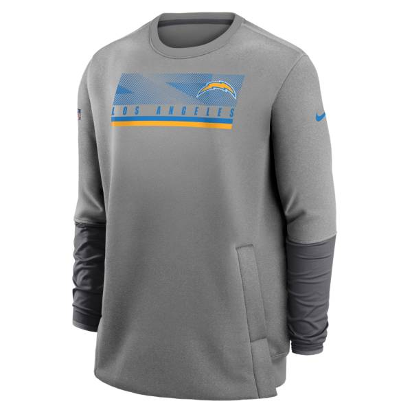 Nike Men's Los Angeles Chargers Grey Logo Long Sleeve Pullover product image