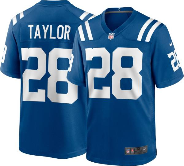 Nike Men's Indianapolis Colts Jonathan Taylor #28 Blue Game Jersey product image