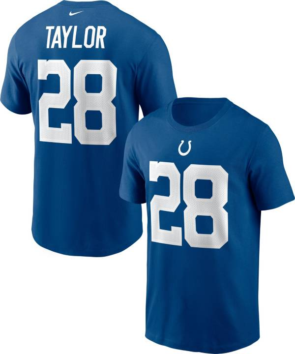 Nike Men's Indianapolis Colts Jonathan Taylor #28 Gym Blue T-Shirt product image