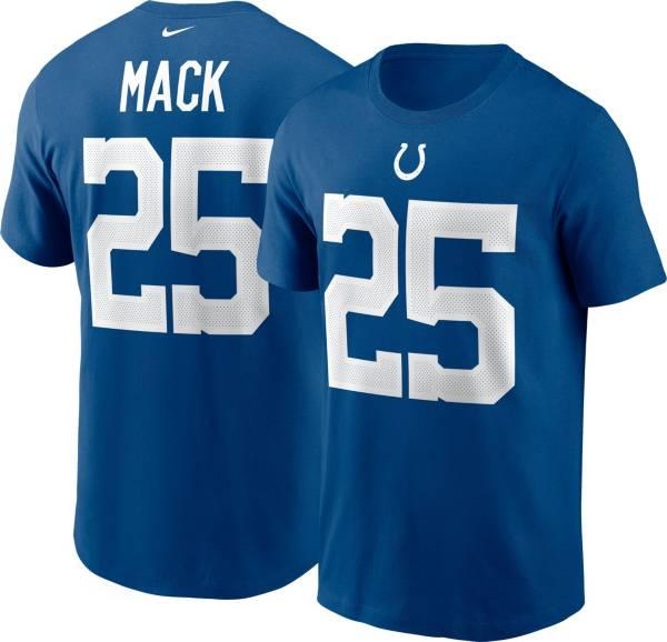 Nike Men's Indianapolis Colts Marlon Mack #25 Gym Blue T-Shirt product image