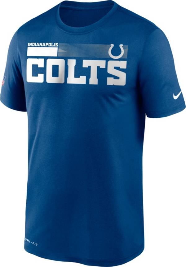 Nike Men's Indianapolis Colts Legend Performance Royal T-Shirt product image