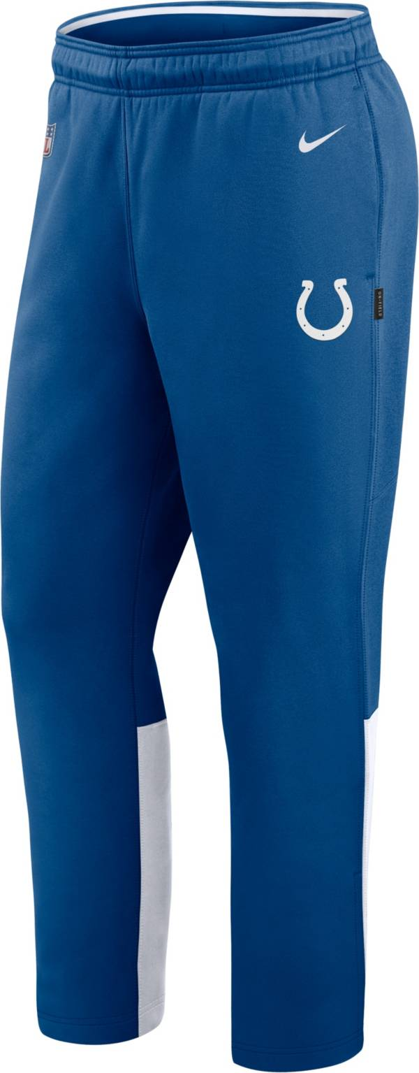 Nike Men's Indianapolis Colts Sideline Logo Blue Woven Pants product image