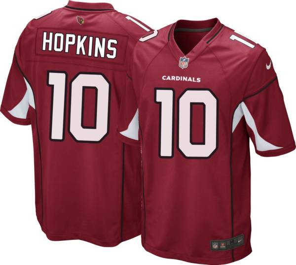 Nike Men's Arizona Cardinals DeAndre Hopkins #10 Home Red Game Jersey product image
