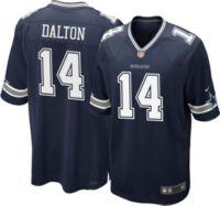 Nike Men's Dallas Cowboys Andy Dalton #14 Navy Game Jersey