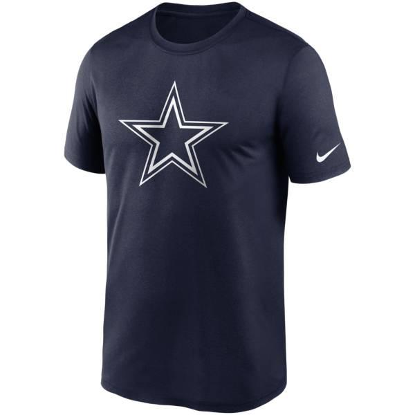 Nike Men's Dallas Cowboys Legend Logo Navy T-Shirt product image