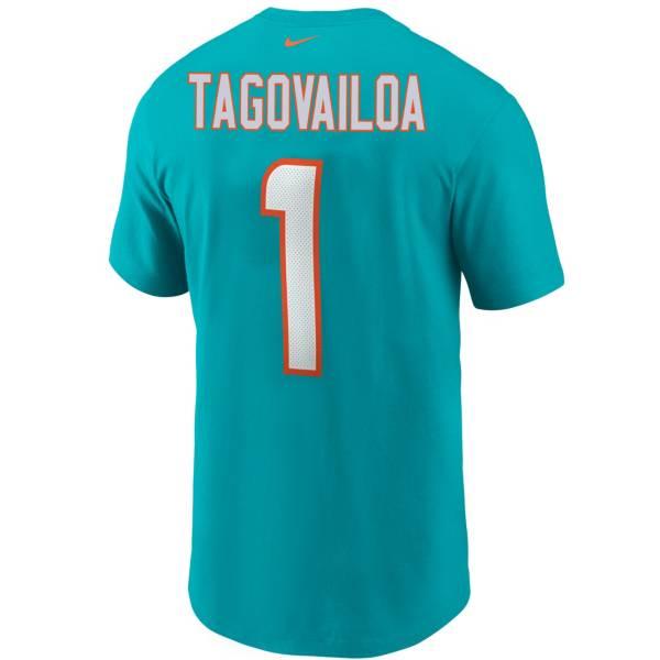 Nike Men's Miami Dolphins TuaTagovailoa #1 Logo T-Shirt product image