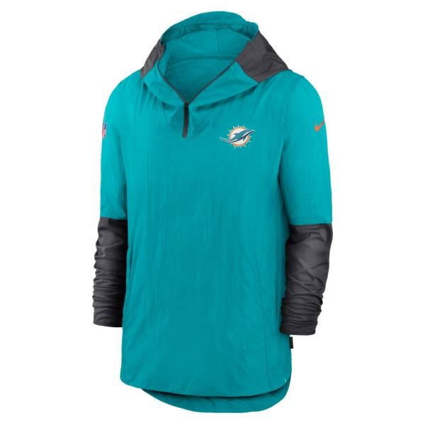 Nike Men's Miami Dolphins Sideline Dri-Fit Player Jacket product image