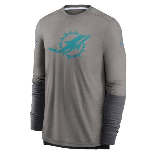Nike Men's Miami Dolphins Sideline Dri-Fit Player Long Sleeve T-Shirt product image