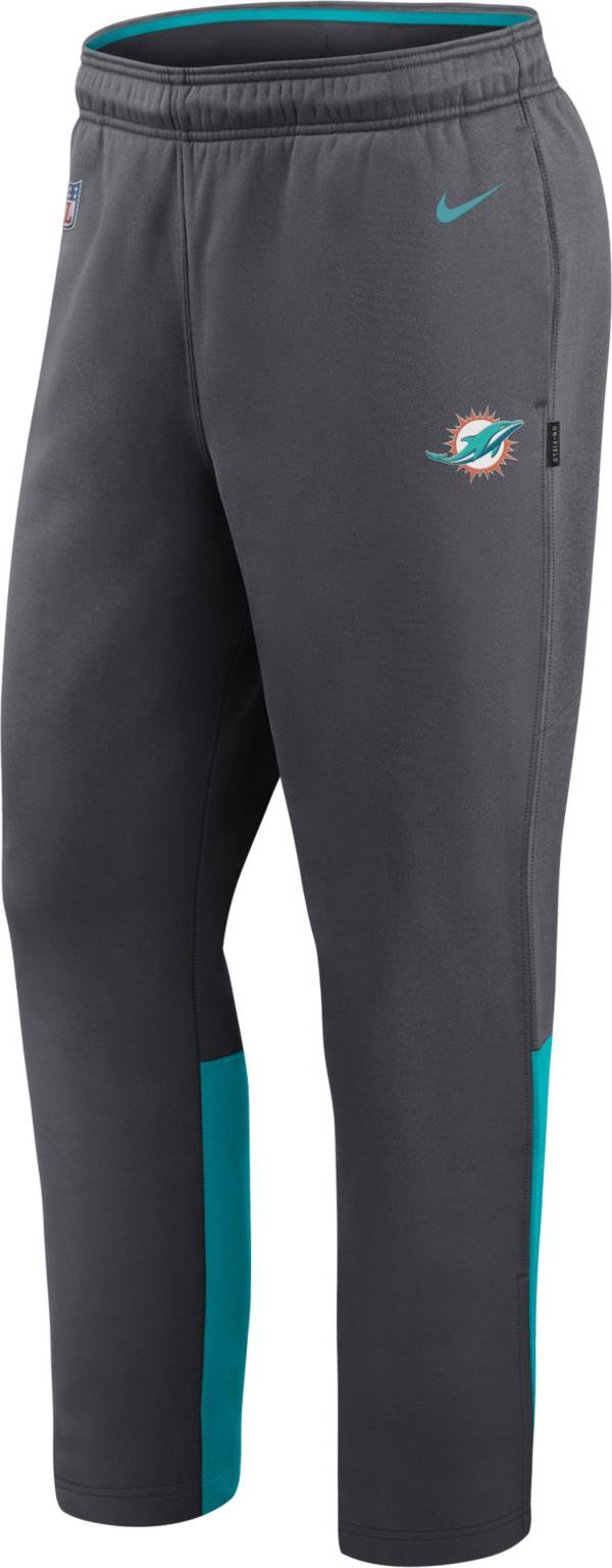 Nike Men's Miami Dolphins Sideline Logo Anthracite Woven Pants product image