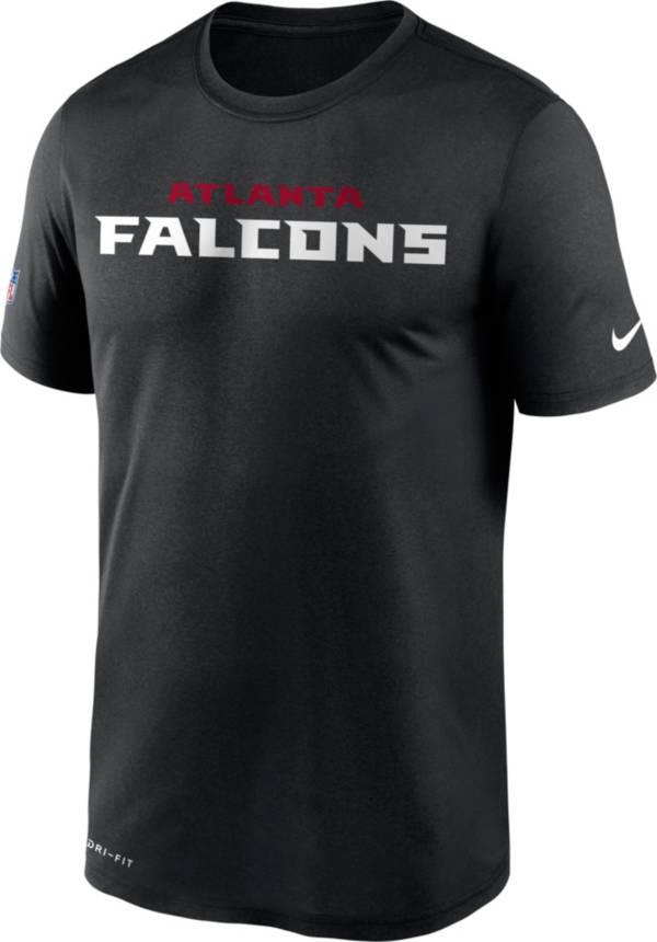 Nike Men's Atlanta Falcons Legend Performance Black T-Shirt product image