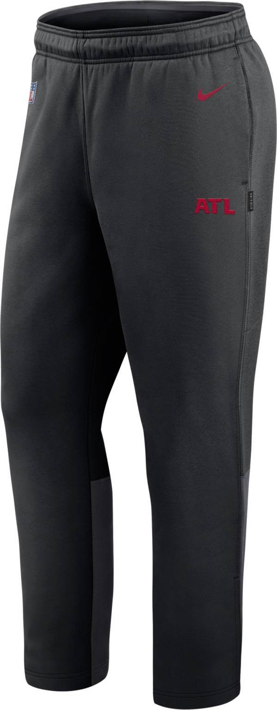 Nike Men's Atlanta Falcons Sideline Logo Black Woven Pants product image