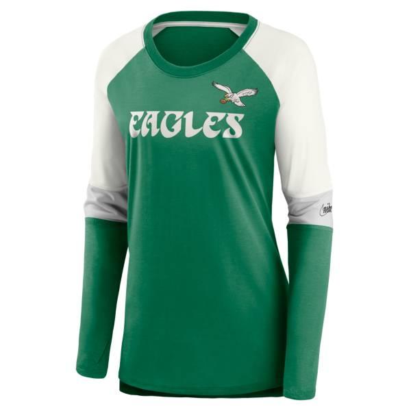 Nike Women's Philadelphia Eagles Logo Long-Sleeve T-Shirt product image
