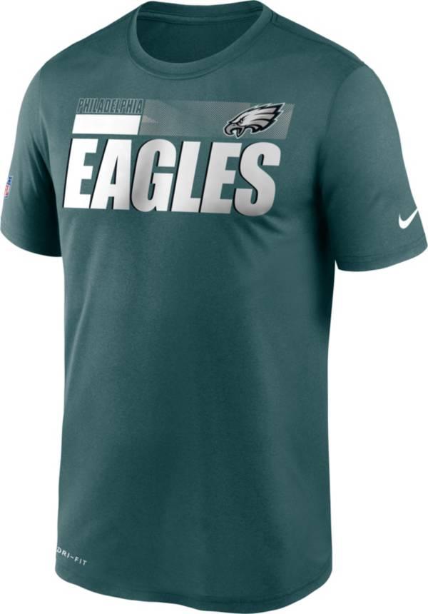 Nike Men's Philadelphia Eagles Legend Performance Green T-Shirt product image
