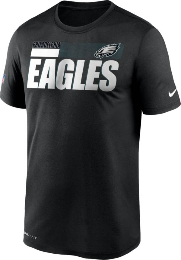 Nike Men's Philadelphia Eagles Black Legend Sideline T-Shirt product image