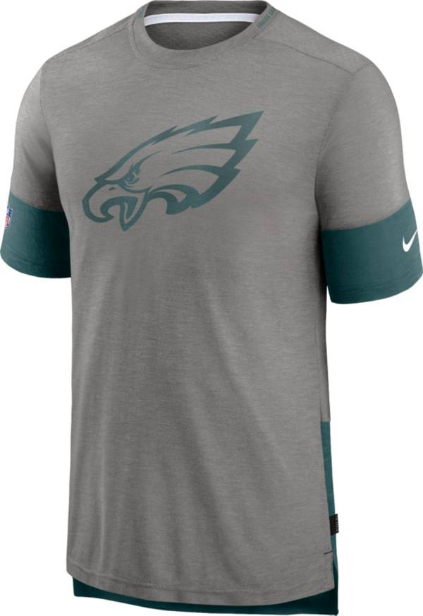 Nike Men's Philadelphia Eagles Grey Sideline Player T-Shirt product image