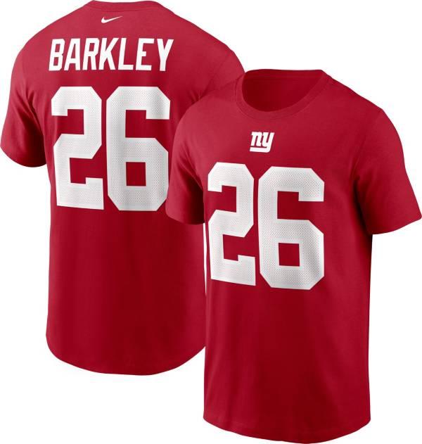 Nike Men's New York Giants Saquon Barkley #26 Legend Red T-Shirt product image