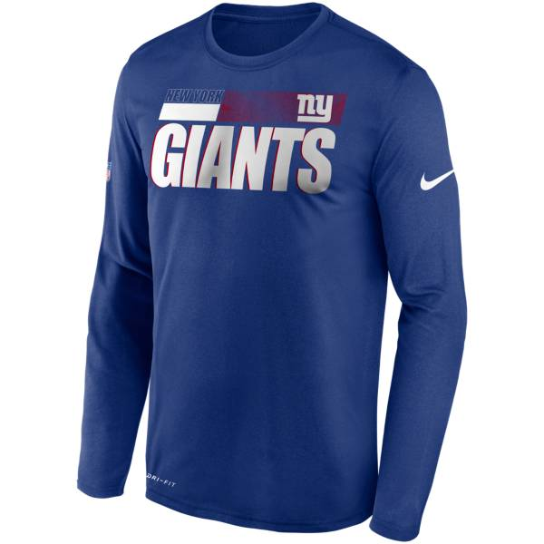Nike Men's New York Giants Sideline Long Sleeve T-Shirt product image