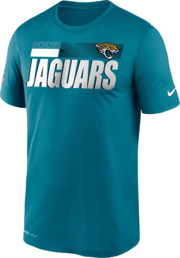 Nike Men's Jacksonville Jaguars Legend Performance Teal T-Shirt product image